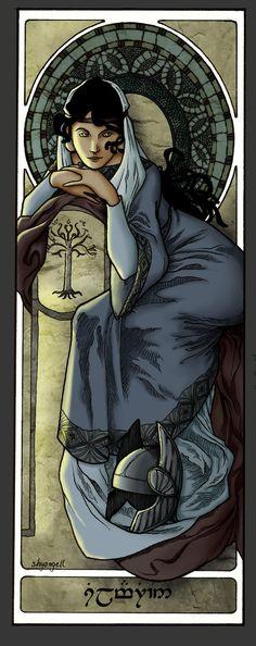 Queens Of Numenor - Princess Silmarien by shyangell Digital Art / Drawings & Paintings / Illustrations / Conceptual  ©2012-2013 shyangell Queens of Numenor Vol 1