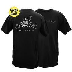 Peace Frogs Adult Rest In Peace Short Sleeve T-Shirt $18.95 + $7.00  or no shipping on orders over $75 www.peacefrogs.com