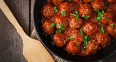 Have You Ever Tried Sweet & Sour Meatballs? They're Such A Time Saver & Couldn't Be Tastier