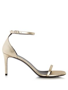 Jane grained-leather sandals | Saint Laurent | MATCHESFASHION.COM