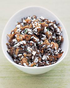 Wild-Rice and Sausage Dressing and more on MarthaStewart.com