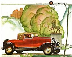 1931 Oldsmobile F-31 Convertible Roadster Vintage Cars, Convertible, Automobile, Vehicles, Ads, Illustrations, Motor Car, Autos, Illustration