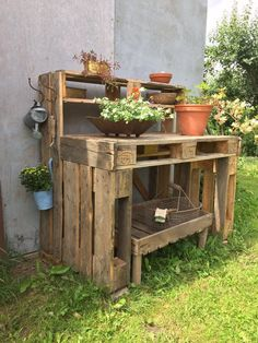 Pallet Planter And Storage Boxes in your Garden The post Top 10 Pallet Patio Furniture Plans Sensod Create. appeared first on Pallet Diy.