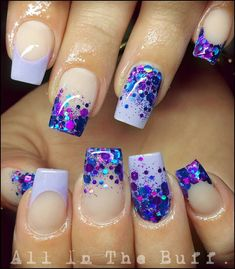 Nice 37 Amazing French Manicure Nail Art Designs Ideas. More at https://outfitsbuzz.com/2018/03/02/37-amazing-french-manicure-nail-art-designs-ideas/