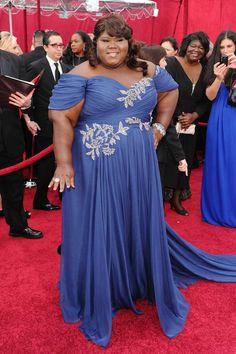 Gabourey Sidibe Oscars 2010: 'Money Shot' Dress.  huffingtonpost.com