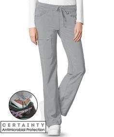 Cherokee Infinity 1123AT Antimicrobial Scrub Pant, Tall Scrub Pants Clothing For Tall Women, Bungee Cord, Petite Pants, One Back, Scrub Pants, Scrub Tops, Straight Leg Pants, Fashion Pants, Cherokee