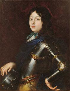 Antonio Franchi - Ritratto del Gran Principe Ferdinando de' Medici - 1677 - Olio su tela -  Firenze, collezione privata