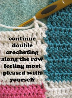 """The """"ordinarily extraordinary"""" method of joining as you go along. Looks much easier than stitching it up after the fact."""