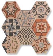Керамогранитная плитка HEXAGONAL фабрики Navarti Kerlife (Испания)