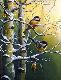 Jim Hansel | Art Gallery: Viewing Editions of Winter Refuge II by Jim Hansel