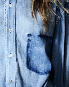 jean shirts = instant cool in my book