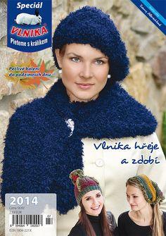 ČASOPIS VLNIKA | Časopis speciál 2014 - čapice, šály, rukavice | priadza, vlna, ihlice na pletenie, tvorivé obrázky, puzzle, farby, výtvarné a kreatívne sady