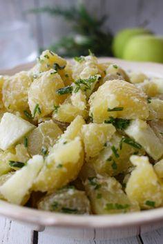 The best ever potato & apple salad