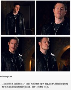 As exciting as this may be, Gadreel still needs to pay for what he did to Kevin.