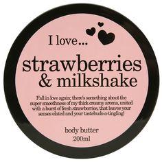 I love body butter  Strawberries & Milkshake 200ml