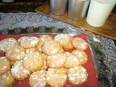 Pastas de mantequilla y frutos secos