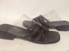 fda60c2a9a3fe Brighton Rita Braided Sandals Size 9.5 M  Brighton  Strappy Slingback Sandal