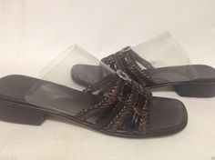 Brighton Rita Braided Sandals Size 9.5 M #Brighton #Strappy