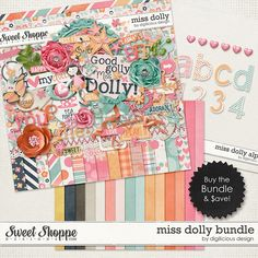 {Miss Dolly} Digital Scrapbook Kit by Digilicious Design available at Sweet Shoppe Designs http://www.sweetshoppedesigns.com/sweetshoppe/product.php?productid=30179&cat=0&page=8 #digiscrap #digitalscrapbooking #digiliciousdesign