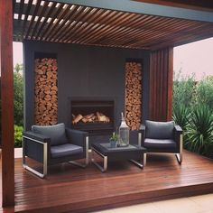 Pergola Design Ideas Get Inspired by photos of Pergolas from Australian Designe. Pergola Design Id Veranda Pergola, Outdoor Pergola, Outdoor Areas, Outdoor Rooms, Outdoor Living, Diy Pergola, Small Pergola, Pergola Ideas, Patio Ideas