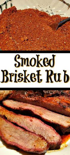 homemade rubs for smoking meat \ meat rubs homemade . homemade rubs for meat . homemade rubs for smoking meat Best Smoked Brisket Rub Recipe, Bbq Rub Recipe, Beef Brisket Recipes, Smoked Meat Recipes, Best Brisket Rub, Smoked Ribs, Brisket Recipe Smoker, Dry Rub For Brisket, Grilling
