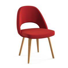 Beautiful Saarinen Executive Armless Chair Photo Gallery
