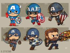 Captain America Character Evolution - Jeff Victor