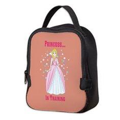 Princess...in Training Neoprene Lunch Bag