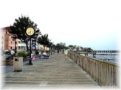 North Beach, MD...adorable little town! Great vacation with the hubby and puppies <3