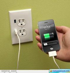 USB Wall Socket is cool