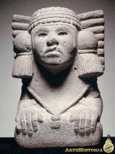 Diosa de al agua y la fertilidad. Cultura Azteca (México). En la mitología mexica es la diosa de los lagos y corrientes de agua. También es patrona de los nacimientos, y desempeña un papel importante en los bautismos aztecas. Fue una de las figuras femeninas más importantes vinculada al líquido en la cultura mesoamericana. Chalchiuhtlicue fue considerada también como la más importante protectora de la navegación costera en el México antiguo.