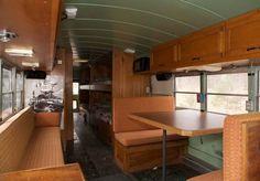 Beautiful School Bus Conversion