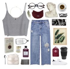 """""""yoins 19"""" by ruthaudreyk ❤ liked on Polyvore featuring Reebok, Not Soap, Radio, Fjällräven, Homage, Zero Gravity, Fresh, Menu, Brooklyn Candle Studio, House Parts and Zone"""