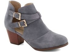 2. Cut Out Stacked Boots