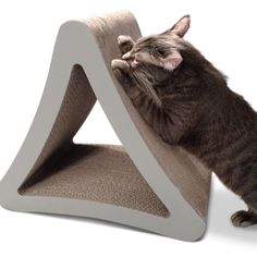 PetFusion 3-sided Vertical Cat Scratcher | Overstock.com Shopping - The Best Deals on Cat Furniture