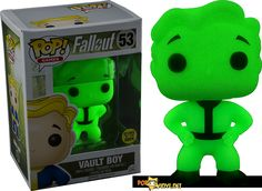 New and perhaps a Hot Topic exclusive??  fallout vault boy green screen glow
