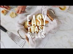 This working with yeast is scary? It isn't! This recipe for EASY Buttery Yeast Rolls will make you the star of Thanksgiving dinner!