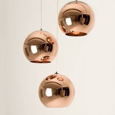 Diameter 40CM Tom Dixon Copper Shade ceiling light Pendant Lamp x3piece + free shipping-in Chandeliers from Lights & Lighting on Aliexpress.com