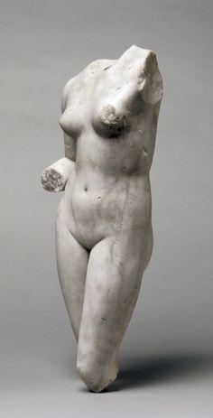 """Torso of Venus"" (ca. 1st-2nd century). Roman. Posted on clevelandart.org."