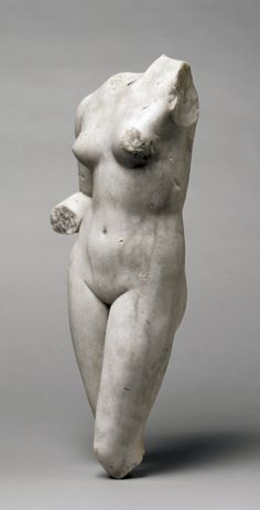 Torso of Venus. Roman, 1st - 2nd Century. Marble.