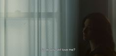 "― Comet (2014)""So do you still love me?"""