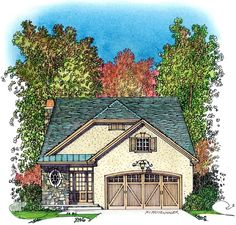 Bungalow   Cottage   Country   House Plan 86066