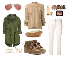 """""""winter"""" by tauriel25 ❤ liked on Polyvore featuring Ann Demeulemeester, Isabel Marant, 3.1 Phillip Lim, Topshop, Aamaya by priyanka, FOSSIL, Urban Decay, NARS Cosmetics, Ray-Ban and white"""