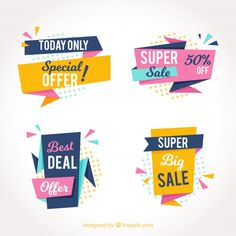 sale sticker Pack of abstract sale stickers Free Vector Chart Design, Ad Design, Vector Design, Layout Design, Logo Design, Desing Inspiration, Typography Inspiration, Web Banner Design, Web Banners