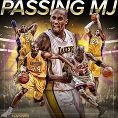 Move over Michael Jordan.   LA Lakers legend Kobe Bryant now has more career points than His Airness