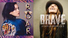 Brave Roar (Sara Bareilles x Katy Perry) Katy Perry, Brave, Sara Bareilles Songs, Jam Songs, Best Workout Songs, Emoticons, Soundtrack, Music, Youtube