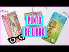 DIY 3 ideas de Punto de Libro | Cómo hacer Marcapáginas | Tutorial Scrapbooking Luisa PaperCrafts - YouTube