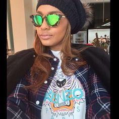 #ShareIG Layers kinda day❤️ Givenchy jacket #bandofoutsiders shirt #kenzo tshirt #stellamccartney sunnies #moncler beanie ✨