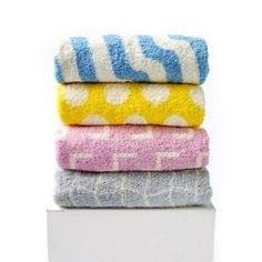 Currently inspired by: Set of 4 Assorted Bath Towels on Fab.com