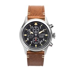 JM-A102-017 Aviator Chronograph Watch